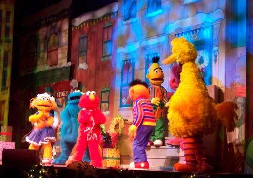 A Sesame Street Christmas in the Globe Theatre.