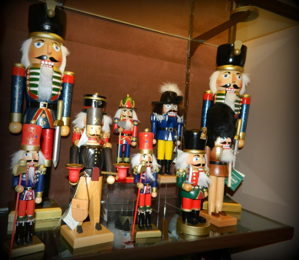 Nutcrackers of every size and shape