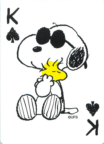 Snoopy and Woodstock always bring the nice and happy to mind. Photo credit: Flickr/cc license/Andertoons