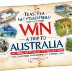 Tea for two, anyone?  Win a trip to Australia from TEAS' TEA