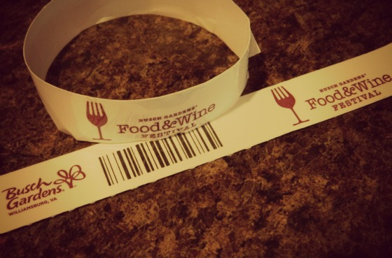 Handy dandy wristband payment system.