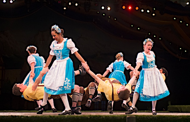 This is Oktoberfest. Photo: ©Busch Gardens