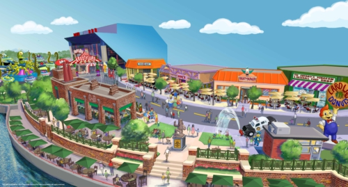 The town of Springfield has been transplanted to Universal Studios Orlando. Photo: PR Newswire/Universal