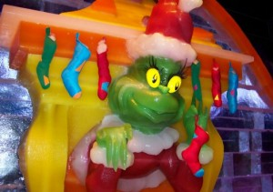 The grinchiest of grins.