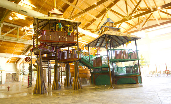 Fort Mackenzie Photo: Great Wolf Lodge