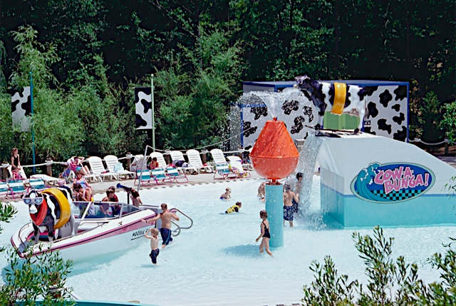 Cow-A-Bunga kids' water play area. Photo: Water Country U.S.A.