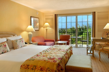 Guest room. Photo: Fairmont Southampton