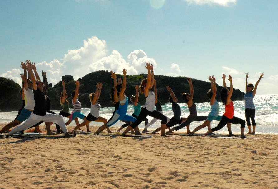Photo courtesy of Bermuda Yoga Festival.