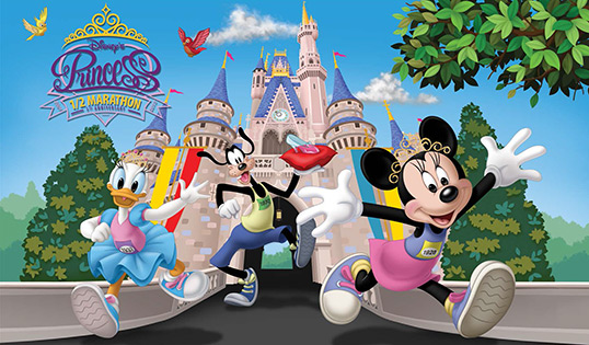 The Disney Princess Half Marathon is presented by Children's Miracle Network. Photo: Google Images/CC License