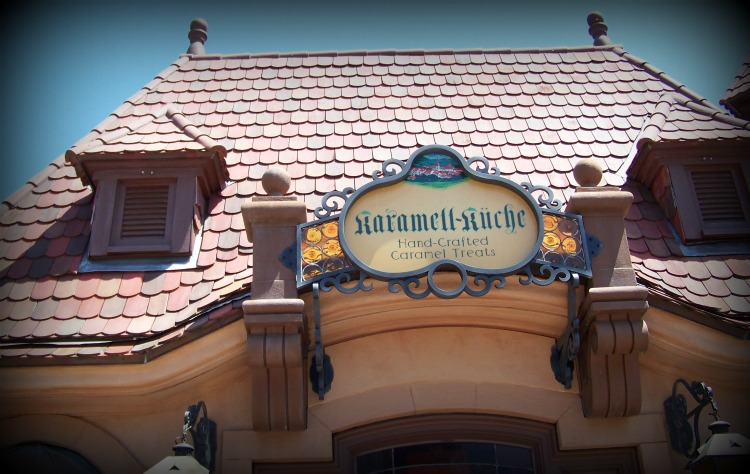 Karamel Kuche in the  Germany area of Epcot.