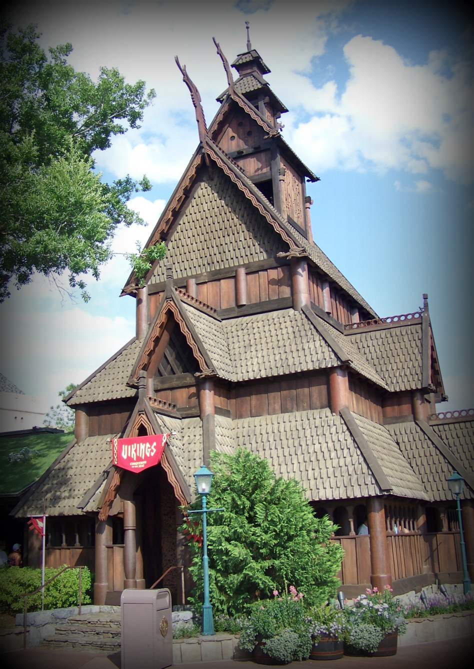 Norway pavilion at Epcot.