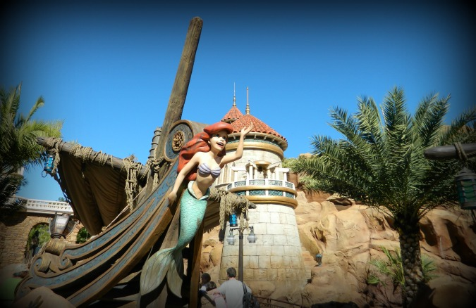 Ariel's Grotto in New Fantasyland.