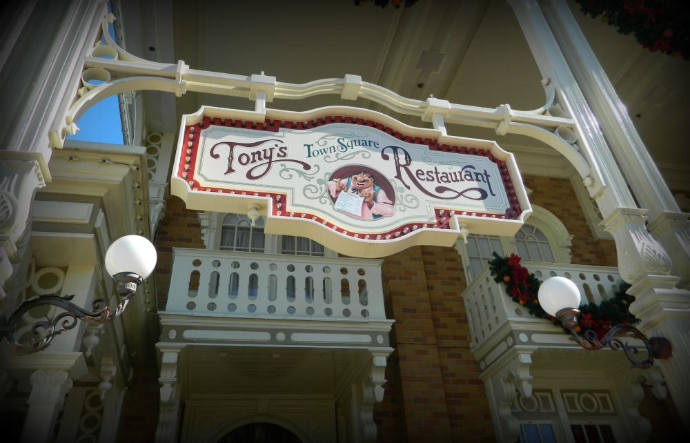 Tony's Italian restaurant at Disney's Magic Kingdom.