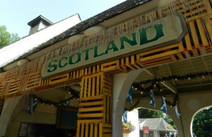 Scotland - located across from the Highland Stables