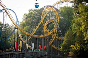 The Loch Ness Monster. Photo: Busch Gardens