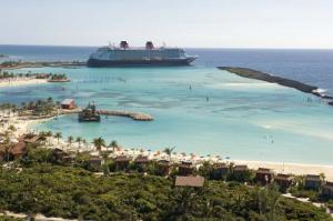 Disney's private island, Castaway Cay, in the Bahamas Photo: PRNewsFoto/Disney Cruise Line