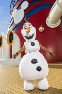 """I like warm hugs"" - Olaf Photo: Matt Stroshane"