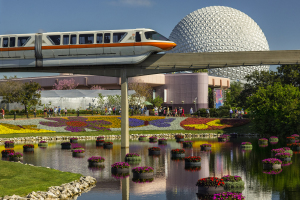 Epcot's 22nd International Flower & Garden Festival takes place March 4 - May 17, 2015. Photo: Matt Stroshane