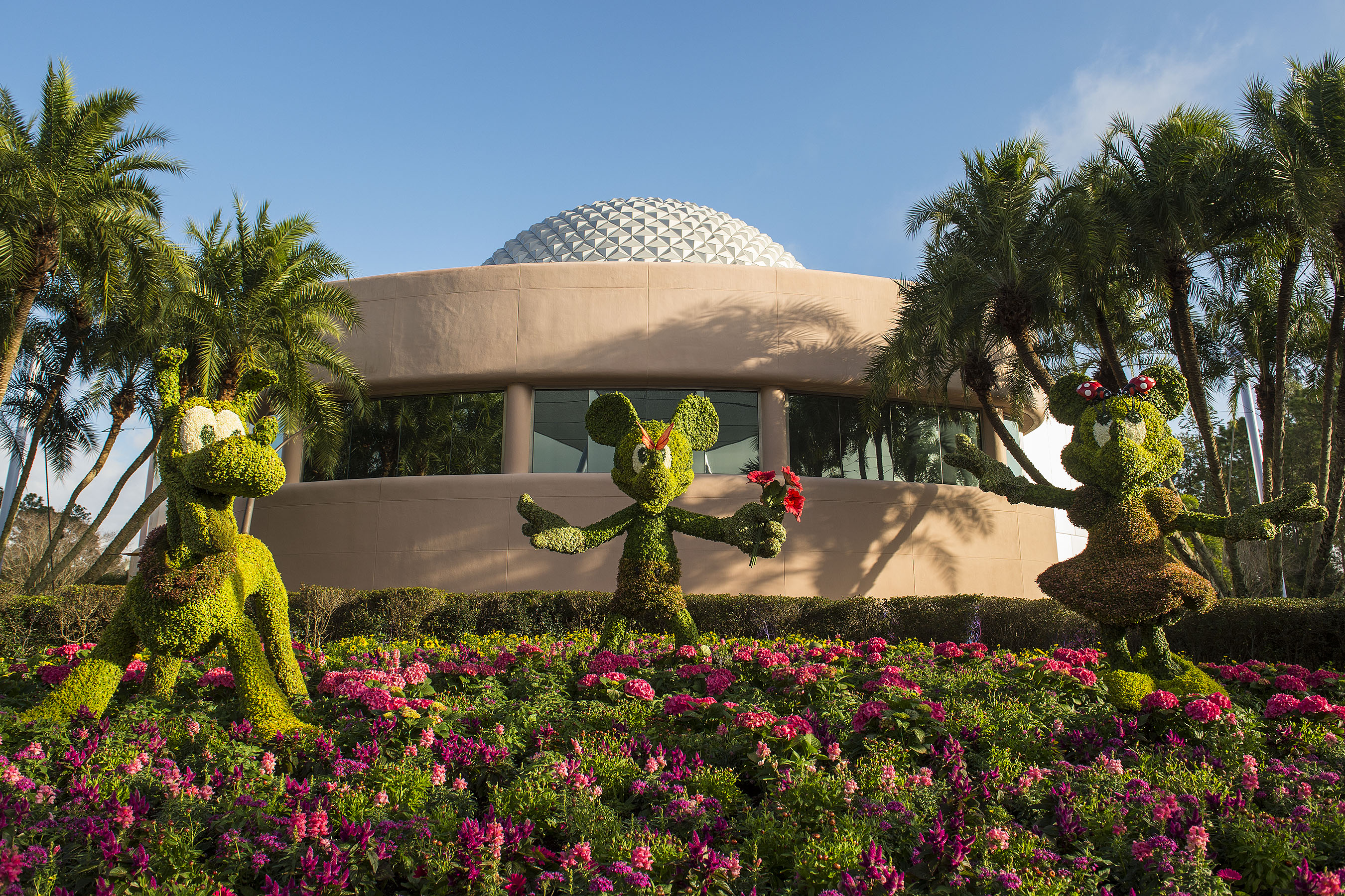 Epcot\'s International Flower & Garden Festival 2015: New Gardens ...