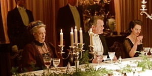 Dinner party at Downton Abbey. Photo: PBS.org/Google Images/CC license