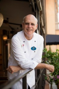 Epcot Chef de Cuisine Michael Deardoff oversees resorts and Epcot festivals. Photo: WDW/Chloe Rice