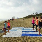 Savasana in the Sand:  Beach Yoga with Farmdog Surf School