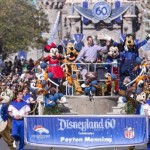 Peyton Manning Celebrates Super Bowl 50 win by going to Disneyland