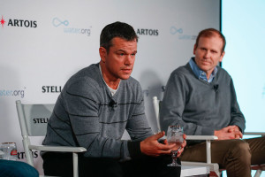 Water.org Co-Founders Matt Damon and Gary White Photo: Rick Kern/Getty Images for Stella Artois