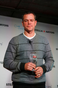 Actor and Water.org co-founder Matt Damon Photo: Rick Kern/Getty Images for Stella Artois