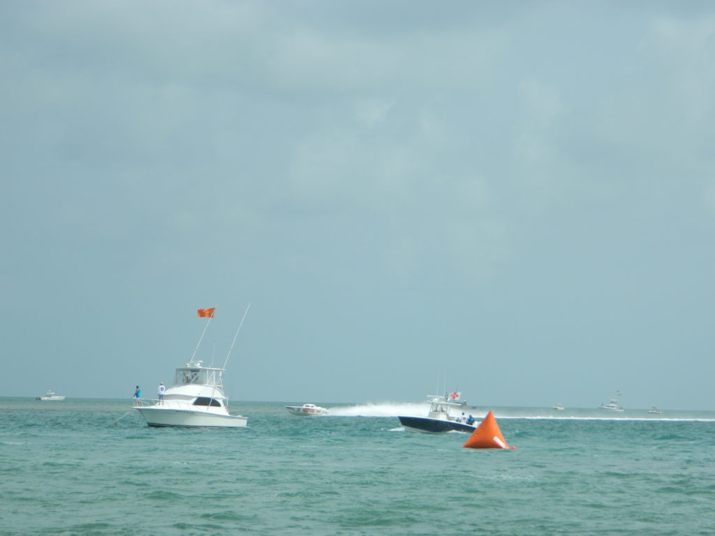 Offshore power boat races - Marathon Key, July 2015.