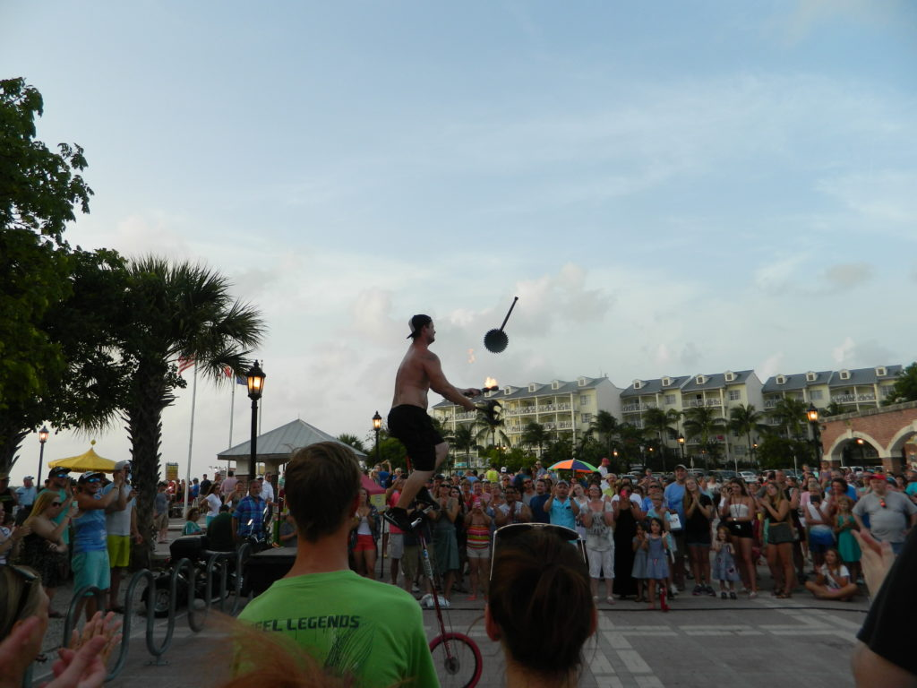 Mallory Square entertainment