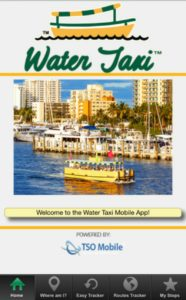 Photo: Water Taxi App screenshot