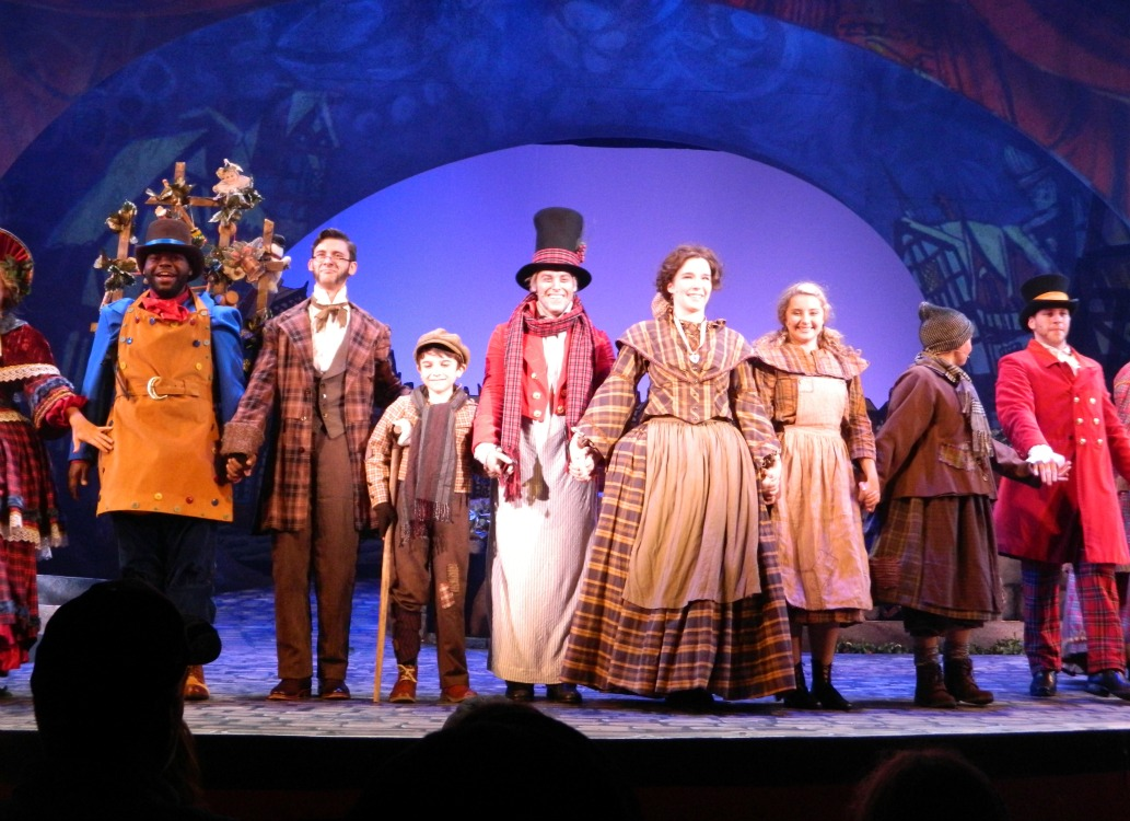 Christmas Town 2014 Busch Gardens Opens With New Show And Toy Drive