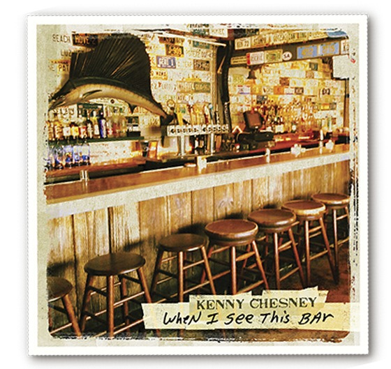 Half Shell Raw Bar, Key West, Makes Cover of Kenny Chesney single 'When I See This Bar'