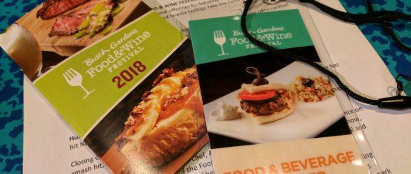 Busch Gardens Food & Wine Festival 2018: What's New?