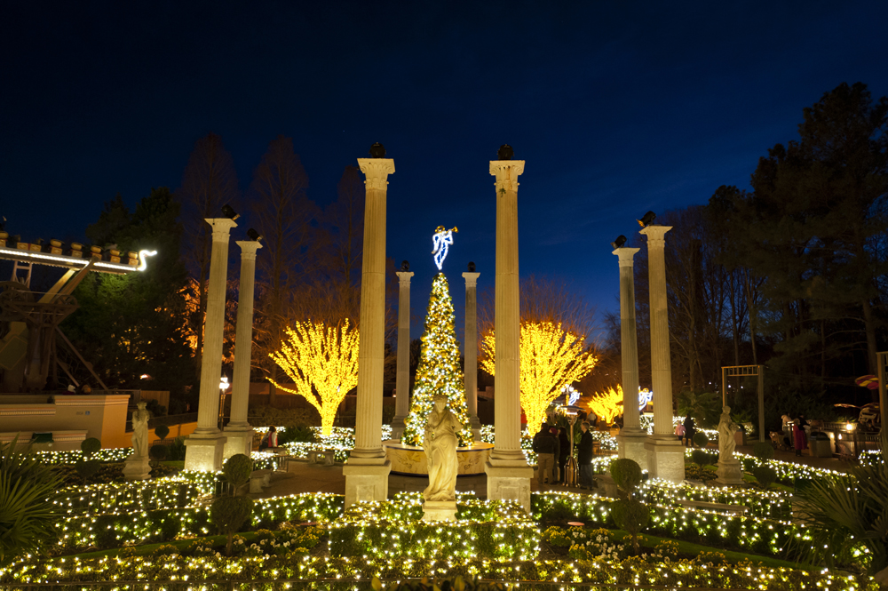 Busch Gardens Christmas.Busch Gardens Christmas Town 2018 Celebrating 10 Magical